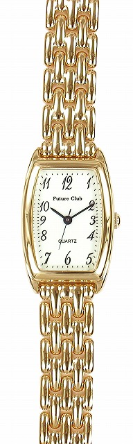 【Future Club】フューチャークラブ レディース腕時計 FC-033L-AS 日常生活用防水(日本製) /10点入り(代引き不可)