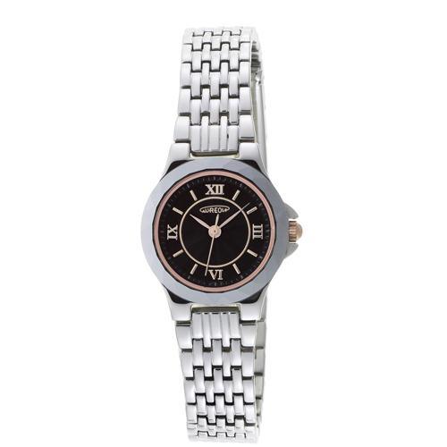 【AUREOLE】オレオール レディース腕時計 SW-489L-1 アナログ表示 薄型 超硬質合金ベゼル 日常生活用防水 /5点入り(代引き不可)【S1】