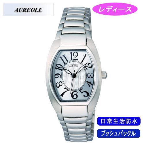 【AUREOLE】オレオール レディース腕時計 SW-488L-3 アナログ表示 日常生活用防水 /10点入り(代引き不可)