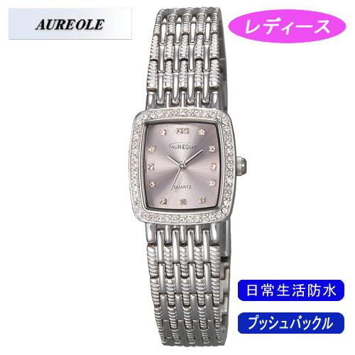 【AUREOLE】オレオール レディース腕時計 SW-459L-4 アナログ表示 日常生活用防水 /10点入り(代引き不可)【送料無料】