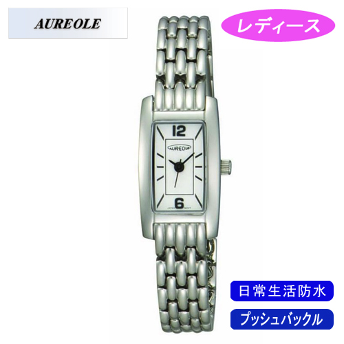 【AUREOLE】オレオール レディース腕時計 SW-454L-3 アナログ表示 日常生活用防水 /5点入り(代引き不可)【送料無料】