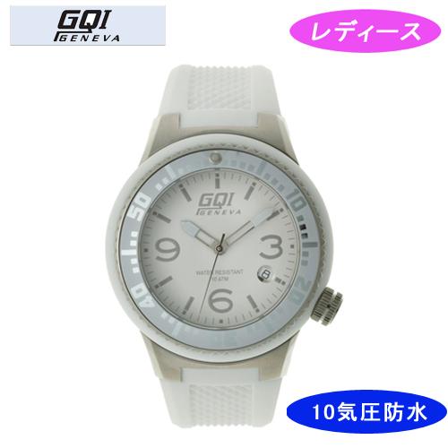 【GQI GENEVA】 ジェネバ レディース腕時計 GQ-112-3 アナログ表示 10気圧防水 /5点入り(代引き不可)【送料無料】
