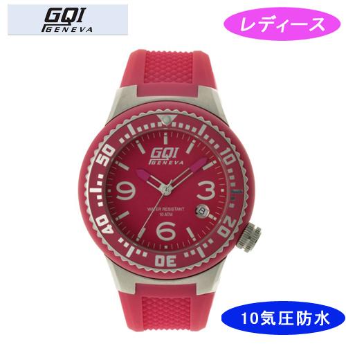 【GQI GENEVA】 ジェネバ レディース腕時計 GQ-112-4 アナログ表示 10気圧防水 /10点入り(代引き不可)