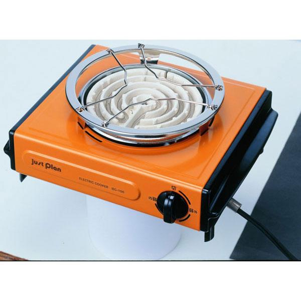 【IZUMI】イズミ 電気コンロ IEC-105-D IZUMI電気コンロIEC-105/8点入り(代引き不可)【送料無料】