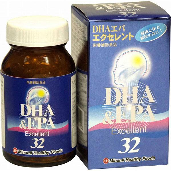 DHAエパエクセレント32(日本製) /40点入り(代引き不可)【送料無料】【S1】