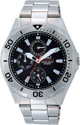 【CITIZEN】シチズン Q&Q ソーラー電源搭載マルチハンズ メンズ腕時計H018-202 /5点入り(き)【送料無料】