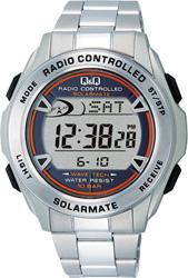 【CITIZEN】シチズン Q&Q ソーラー電源デジタル電波 メンズ腕時計MHS7-200 /10点入り(代引き不可)【送料無料】
