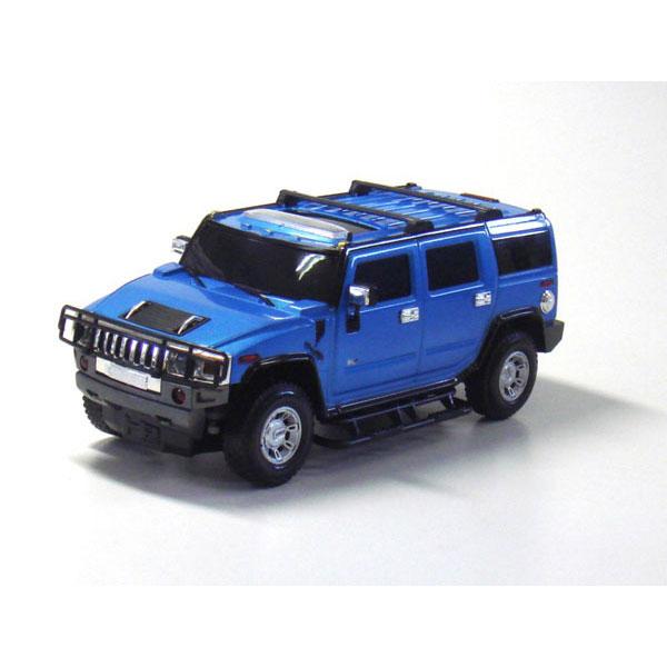 ラジオコントロールカー R/C 1:16 ハマーH2 ハマーH2(ブルー)TY-0102HBL/6点入り(代引き不可)【送料無料】