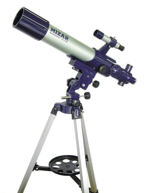 【MIZAR-TEC】ミザールテック 天体望遠鏡TL-750 屈折式 口径70mm 焦点距離500mm /4点入り(代引き不可)【送料無料】