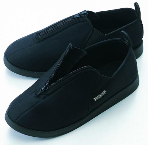 ソフト軽量靴あしかるさんブラックL/36点入り(代引き不可)【送料無料】