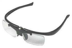 リーディンググラス DR-003 ブラック 跳ね上げ式老眼鏡 ブラック/度数+1.5/6点入り(代引き不可)【送料無料】