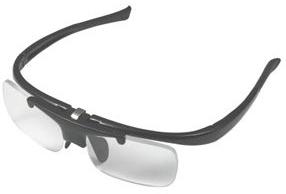 リーディンググラス DR-003 ブラック 跳ね上げ式老眼鏡 ブラック/度数+2.5/6点入り(代引き不可)【送料無料】