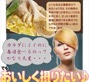 SmilS おいしいショウガ とろとろスープ(日本製) SmilS おいしいショウガ とろとろスープ/50点入り(代引き不可)【送料無料】