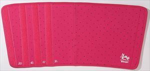 4STEPビューティシェイパー 太もも用 ピンク&ブラックドット/48点入り(代引き不可)【送料無料】【S1】