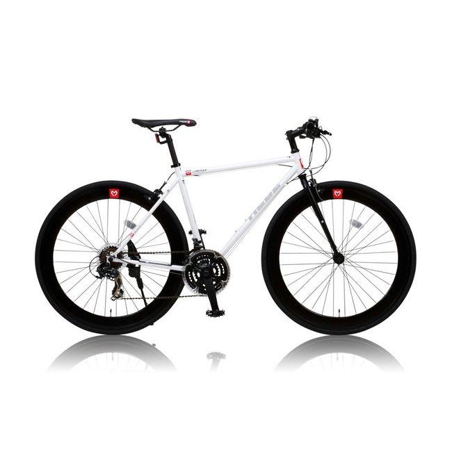 【送料無料】CANOVERR カノーバ― クロスバイク CAC-024 HEBE ホワイト CANOVERR カノーバ― クロスバイク CAC-024 HEBE ホワイト(代引不可)【送料無料】