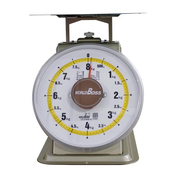 ワールドボス WORLD BOSS 並型上皿自動秤 8kg(代引不可)【送料無料】