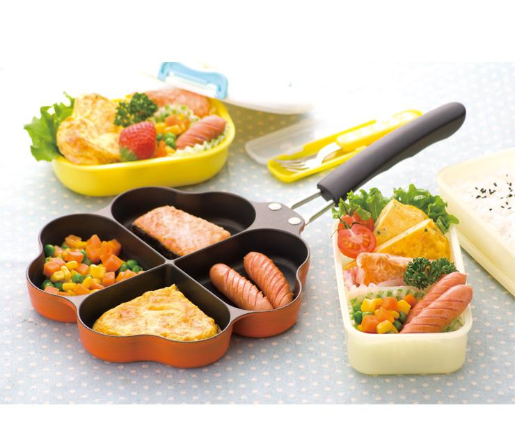 杉山金属 IH対応 しあわせを呼ぶ 四葉のフライパン 日本製 キッチン 料理 フライパン 調理(代引不可)