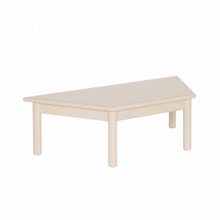 yamatoya (大和屋) 業務用 コントラクト 台形テーブル 3才用 家具 幼稚園 保育園 スタッキングテーブル 木製 子供用机(代引不可)【送料無料】