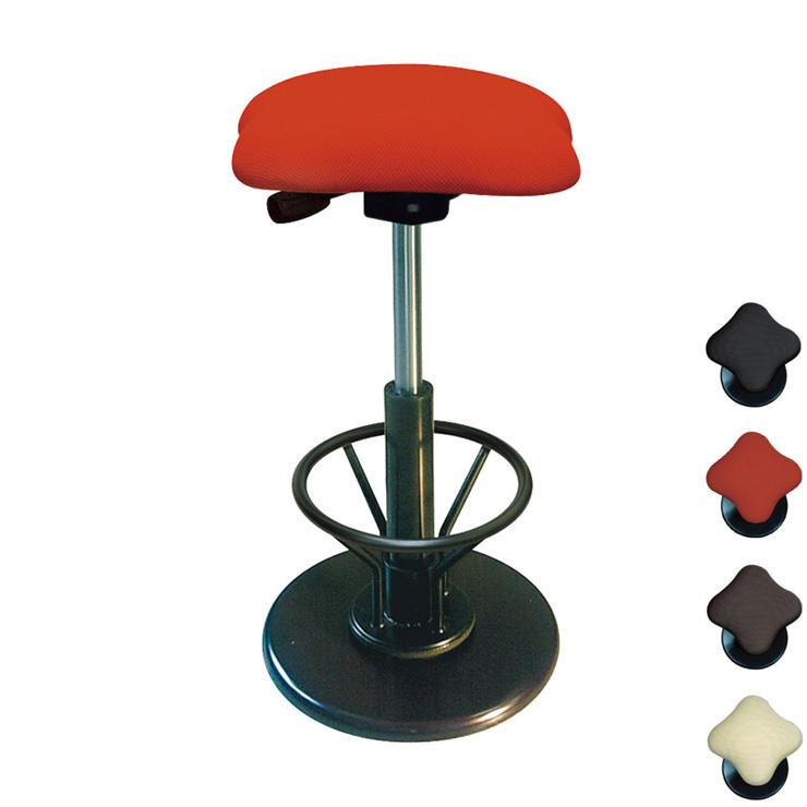 ツイストスツール ラフレシア KモーションR ハイタイプ フットレスト付 日本製 イス 椅子 いす チェア スイング機能 完成品(代引不可)【送料無料】【S1】
