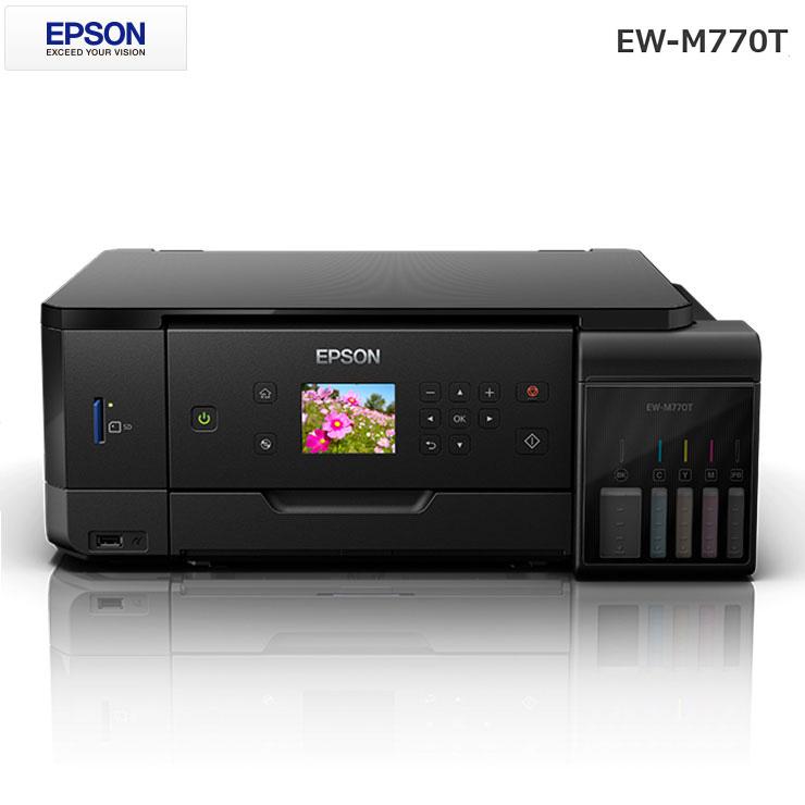 エプソン EPSON エコタンク搭載モデル EW-M770T ブラック プリンター 白黒 カラー A4 コピー インクジェットプリンター【送料無料】