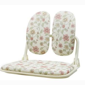ラクラク回転 座椅子 花柄(代引不可)