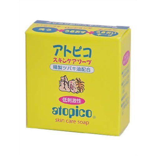 【48個セット】 アトピコ アトピコ スキンケアソープ 80g 化粧品 配合成分別 椿油 椿油 洗顔 大島椿【送料無料】