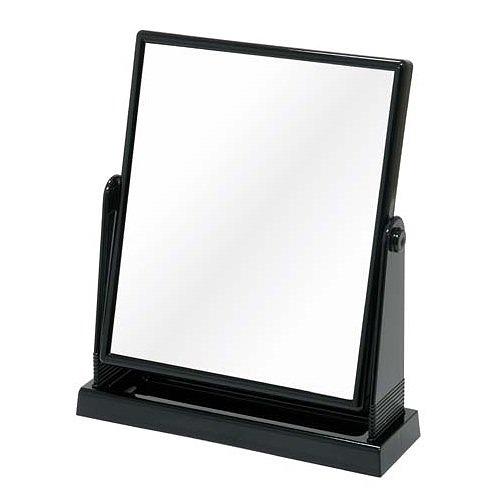 鏡面の大きな卓上ミラー メリー スタンドミラー NO.5620 宅配便送料無料 代引不可 ブラック ファッション通販 BK