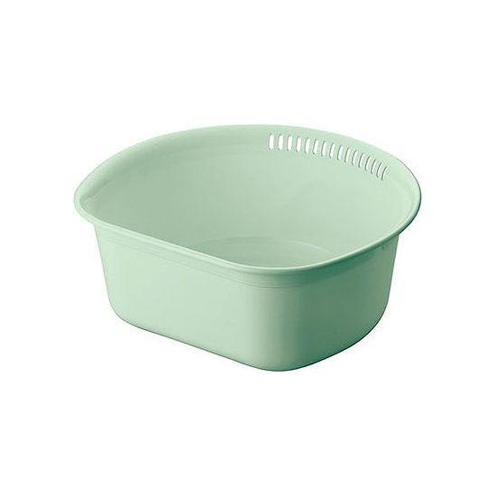 アスベル Nポゼ 洗い桶 グリーン 35型 4311 (代引不可)