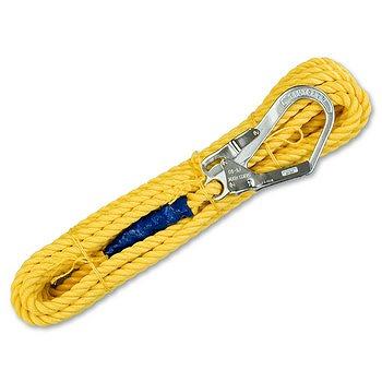 藤井電工 ツヨロン 垂直親綱用ロープ L-30-TP-BX 30m