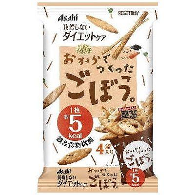 アサヒグループ食品 実物 リセットボディごぼう 健康食品 卸直営 22Gx4包