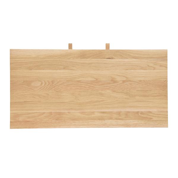 天然オーク無垢材 ダイニングテーブル L2T360NAおよびL2T380NAの天板伸長用エクステンションボード 40cm幅 1枚(代引不可)【送料無料】