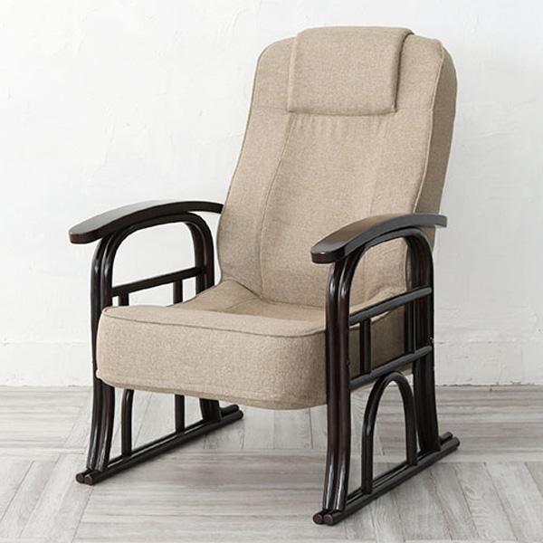 チェア 家具 リクライニングチェア 椅子 座椅子 リクライニング アジアン アジアンテイスト リビング エスニック(代引不可)【送料無料】