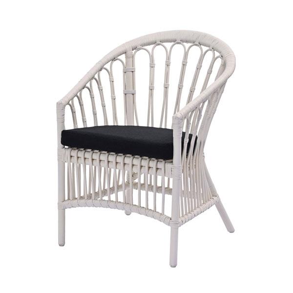 パーソナルチェア ブラック 椅子 リビングチェア イージーチェア(代引不可)【送料無料】