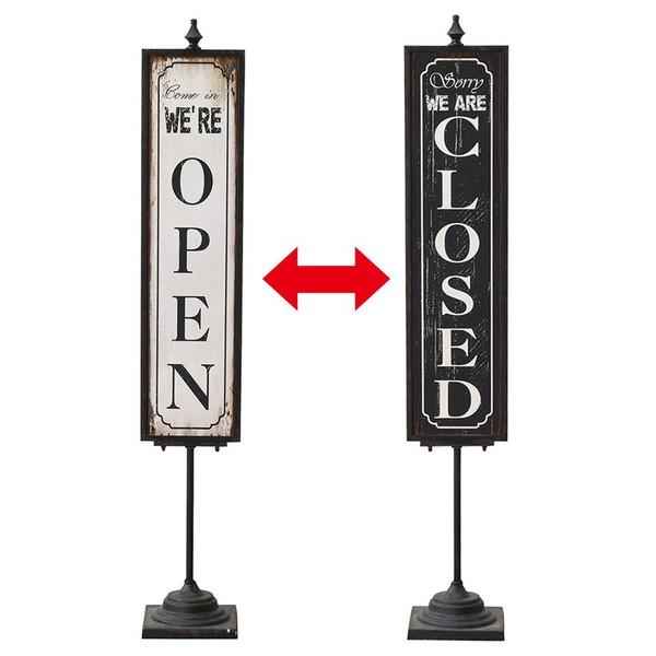 スパイス(SPICE) サインスタンド STAND DECO OPEN&CLOSE STAND サインボード 看板(代引不可)【送料無料】