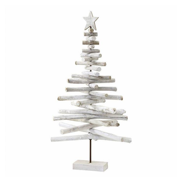 クリスマス 流木風ツリー ホワイト Lサイズ FXXK3913WH(代引不可)【送料無料】