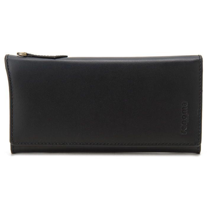 renoma レノマ 長財布 メンズ 9003 001 牛革 レザーウォレット ブラック 財布