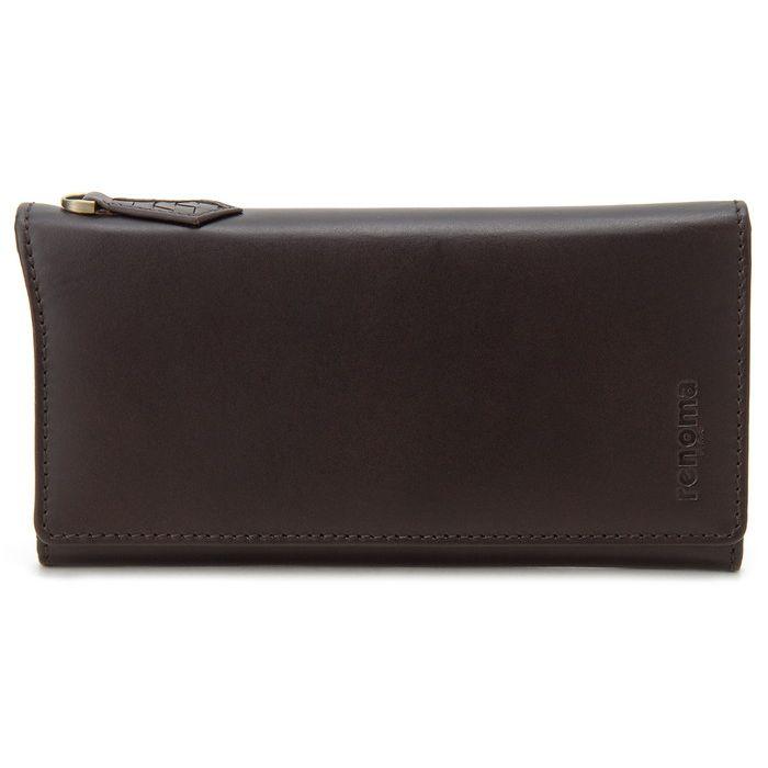 renoma レノマ 長財布 メンズ 9003 002 牛革 レザーウォレット ブラウン 財布