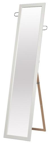 フック付スタンドミラー【日本製】 家具 鏡・ドレッサー スタンドミラー SEN-021(代引不可)【送料無料】【S1】