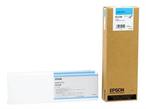 PX-H10000/PX-H8000用 PX-P/K3インク 700ml (ライトシアン) エプソン ICLC58(代引き不可)