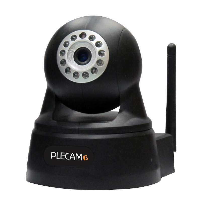 プレクス PLEX1 iPhone・ipad・スマートフォン対応IPカメラ PX-IPCAM-PT2-BK(代引き不可)