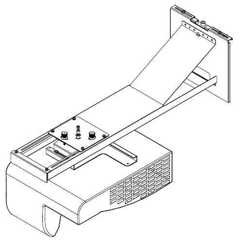 VIVITEK VITEK D755WTシリーズ壁掛け金具 WM-755(代引き不可)