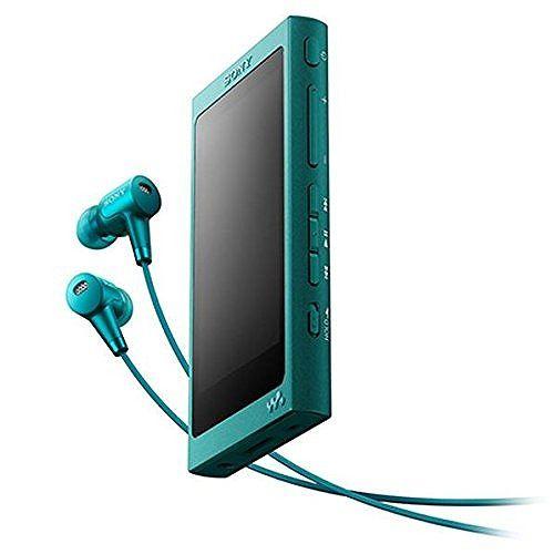 ソニー ウォークマン Aシリーズ (メモリータイプ) 16GB ビリジアンブルー NW-A35HN/L(代引不可)