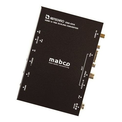 エーディテクノ 業務用スキャンコンバータ HDMI-)VGAコンバータ DSE-004(代引不可)【S1】