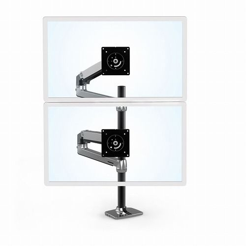 ERGOTRON LX Dual Stacking Arm Tall Pole Black Accents Polished 45-549-026 代引不可 当店人気 おすすめ おしゃれ トレンド 父の日 当店おすすめ 音楽会 売れ行きがよい 年末