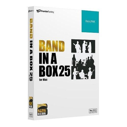 フロンティアファクトリー Band-in-a-Box 25 for Mac BasicPAK PGBBPBM111(代引不可)