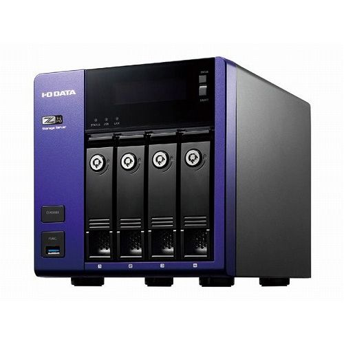 アイ・オー・データ機器 Windows Storage Server 2016 Standard Edition/Intel Celeron搭載 4ドライブNAS 32TB HDL-Z4WP32D(代引不可)