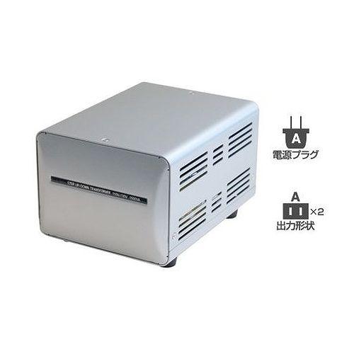 カシムラ 海外国内用型変圧器110-130V/1500VA WT-1UJ(代引不可)