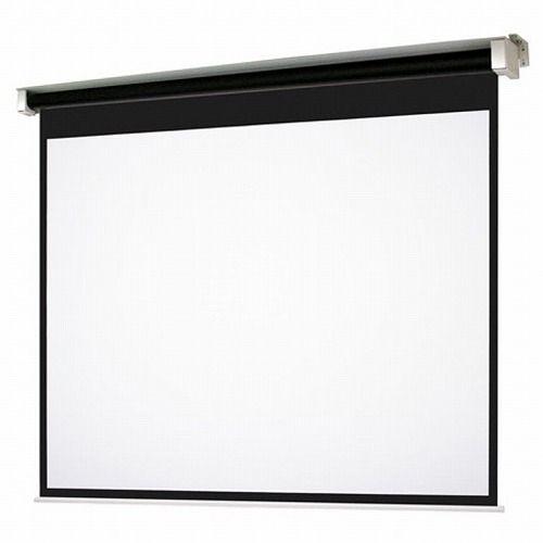 オーエス Tセレクション電動スクリーン ボックス収納タイプ(マスクあり/HD200型) SET-200HM-TW3-WG103()