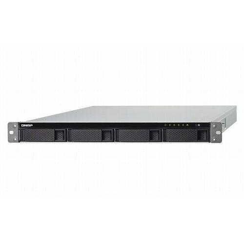 QNAP TS-453BU-RP-4G 24TB搭載モデル(ラックマウント NAS HDD6TB×4個搭載) TS-453BU-RP/24TB()