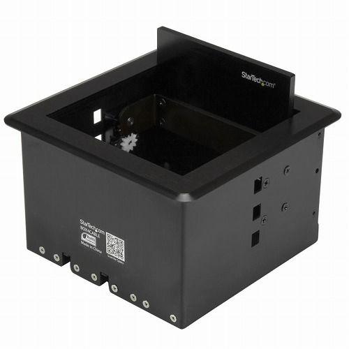 StarTech ケーブル/コード収納ボックス 会議室や演壇テーブルに埋め込むタイプ BOX4CABLE(代引不可)